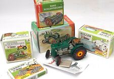 Kovap Hand Made Tin Plate Farm Set Collection inc. Wind-uP Tractor & Implements