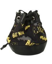 """NEW DC Comics Batman LOGO Bucket Bag Purse Tote Licensed 13"""" x 6 1/2"""" x 8 1/2"""""""