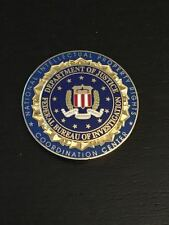 FBI National Intellectual Property Rights Center Police Challenge Coin (CIA DEA)