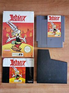 Nintendo NES Jeu Astérix + Notice + Boite