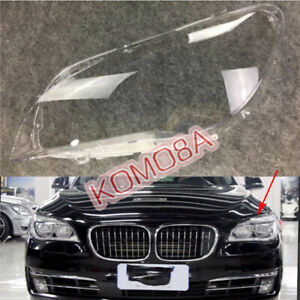 One Side Headlight Lens Headlamp Cover For BMW F02 740 750 760 i Li 2009-2015