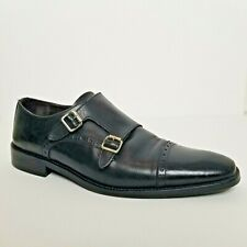 To Boot New York Double Monk Strap Men Dress Shoes