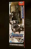 Black Panther Action Figure 12 Inch Marvel Titan Hero Blast Gear Compatible NEW