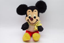 Rare Vintage Mickey Mouse plush doll Walt Disney Characters Stuffed Toy