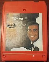 I Don't Know How to Love Her by Jerry Vale  8 Track Cartridge CA 30799