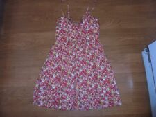 Jessica Simpson trendy floral sundress with pockets size XS spring break