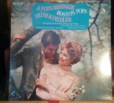 FACTORY SEALED! ARTHUR FIEDLER & BOSTON POPS: A Pops Serenade LP Easy Listening
