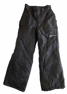 Arctix Snow Pants Youth Kids XS Black Style 1110 Boys Girls
