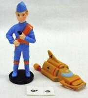 "NEW! Thunderbirds Are Go 4 & GORDON PVC mini FIGURE / YUJIN H2.5""  6cm / UK DSP"