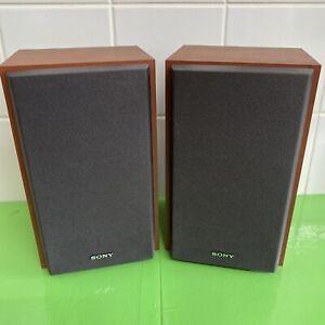 Sony 4 Ohms Bookshelf Speakers (x2). Sony SS-CEH10 are 4 Ohms Bookshelf Speakers