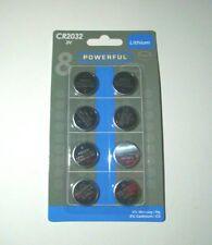 8 x Batterie CR2032 Knopfzelle 3V Lithium für Led Teelicht Teelichter Kerze