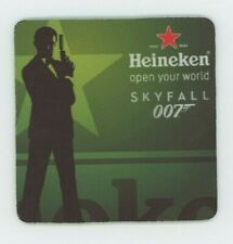 Heineken Bier - James Bond 007 Beer COASTER SET of 4 - Skyfall