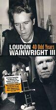 40 Odd Years - Loudon Iii Wainwright (2011, CD NEUF)5 DISC SET