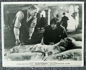 ORIGINAL LOBBY CARD BLOOD MONEY Lee Van Cleef