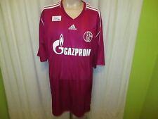 """FC Schalke 04 Adidas Ausweich DFB-Pokal Sieger Trikot 2011 """"GAZPROM"""" Gr.XXXL TOP"""