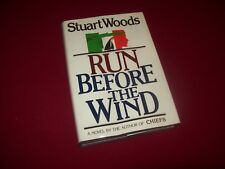 SIGNED ~ Run Before the Wind by Stuart Woods (1983) Limited Edition #1 of 50