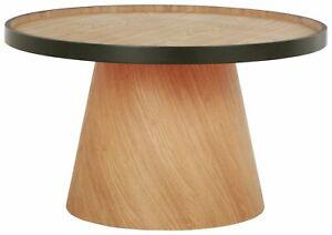 HABITAT Habitat Brodi Wood Veneer Coffee Table - Ash & Black