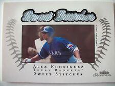 2003 FLEER SWEET STICHES,ALEX RODRIGUEZ, TEXAS !! BOX 13