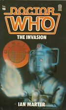 Dr Doctor Who - The invasion. first édition Target livres. pièce sale4charity Do