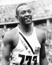 1936 Berlin Olympics JESSE OWENS Glossy 8x10 Photo USA Print Poster Gold Medal