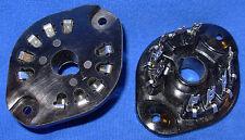 Pair New European Pseudo Octal Y8A 10 pin Vacuum Tube Sockets For VF14, EF12 etc