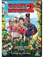 BRAND NEW CLOUDY WITH THE CHANCE OF MEAT BALLS 2 DVD FILM