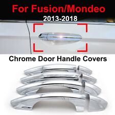 For Ford Mondeo 2015-2018 Chrome Door Handle Covers Trim Catch Garnish Molding
