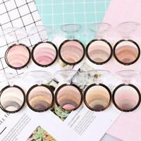 MISS ROSE Rainbow Color Blusher Bronzer Highlighter Makeup Powder Palette