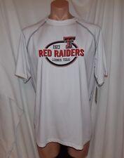 NEW NCAA TEXAS TECH RED RAIDERS Unisex L HOLLOWAY VAPOR PERFORMANCE SHIRT #2447