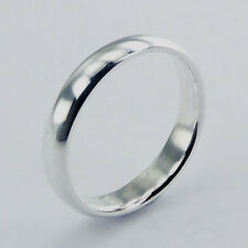 Plain Wedding Band Ring Sterling Silver 925 Best Deal Jewelry USA Seller Size 7
