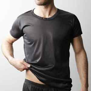 Nylon Tricot tee crew undershirt made by players SMALL-6X
