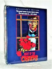 Night Of The Creeps (Blu-ray, 1986) Slipcover Tom Atkins Jill Whitlow New horror