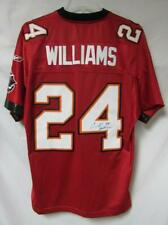 Tampa Bay Buccaneers Mens Size Large Signed Carnell Williams #24 Jersey A1 2401