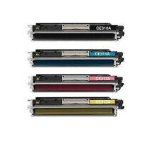 SET 4 toner XXL para LaserJet cp1025 color cp1025nw ce310a-ce313a 126a NonOem
