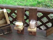 Homestead candle holders