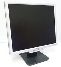 """MONITOR ACER ORDINATEUR PC LCD 17"""" AL1715 AU 1716 1717 D'OCCASION 4.3 1280X1024"""