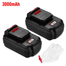 2 Pack 3000mAh Battery For Porter-Cable Pc18B 18-Volt NiCd Cordless Battery Pack