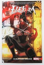 Elektra Always Bet On Red Marvel Graphic Novel Comic Book