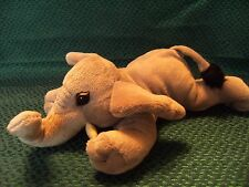 "Bush babies Elephant soft toy 11"" long approx"
