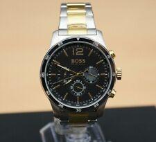 Brand New Hugo Boss Black Professional Two Tone Mens Designer Watch 1513529