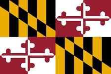 Maryland Flag Vinyl Decal / Sticker ** 5 Sizes **