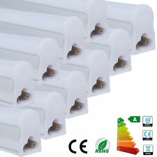 1x ENERGY SAVING T5 LED INTEGRATED TUBE 1' 300MM IN DAY WHITE 6000K MILKY COVER