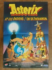 Poster Belgian Asterix And The Indians IN Of Indianen 14 3/16x21 5/16in