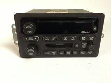 2002 Malibu  Radio AM/FM Cassette CD Player w Auxiliary Input OEM