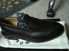 Authentic GEORGE BROWN BILT Mens 8 Fulton Penny Loafer Brown Leather Sole $375
