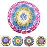Bohemian Indian Mandala Pillows Case Round Home Cushion Floor Waist Cover Throw
