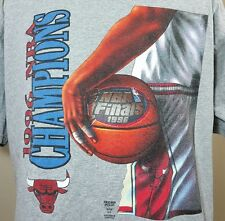 VTG Chicago Bulls T Shirt 1996 Champs Nutmeg XL 90's Jordan Pippen NBA