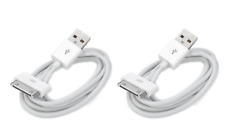 2 Pc 6FT USB Charger Data Sync Cable Cord For iPhone 3G/4/4S iPad 2 iPod nano1-6