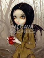 Autumn Is My Last Chance by Jasmine Becket-Griffith Art Print Gothic Girl Poster