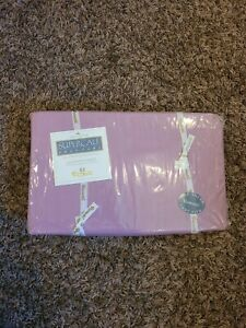 Wamsutta queen fitted sheet raspberry color 200 thread supercale easy care